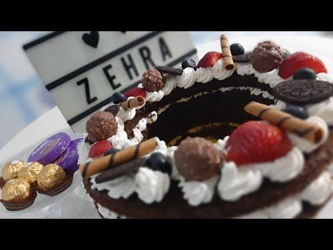 number/letter-cake-avec-sa-crème-au-goût-caramel-طورطة-الأرقام-و-الحروف-مع-كريمة-بمذاق-مميز