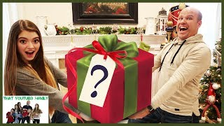 Secret Santa Mystery Gift Box Exchange With YouTubers / That YouTub3 Family I Family Channel thumbnail