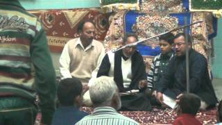 Marsiya - Shabeeh-e-Imam-e-Zaman Kheenchte hain - Jb Shahid Alam Hallauri Sb