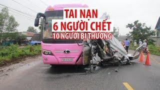 Tai nạn 6 NGƯỜI CHẾT ở Tây Ninh: Hiện trường tan hoang, khủng khiếp