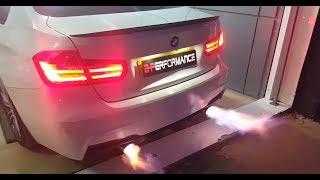 BMW  328i  Stage 2 + flammes