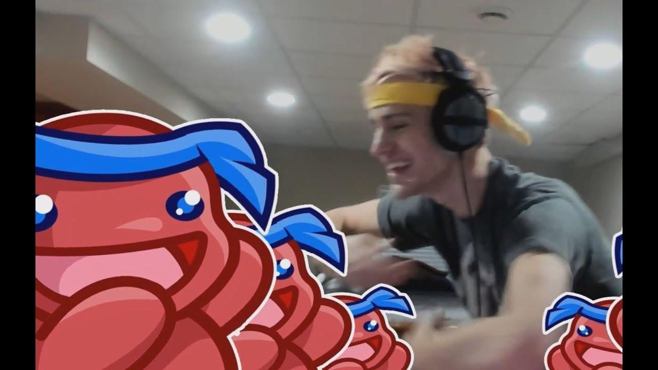 ninja pon pon first pon pon from main webcam youtube