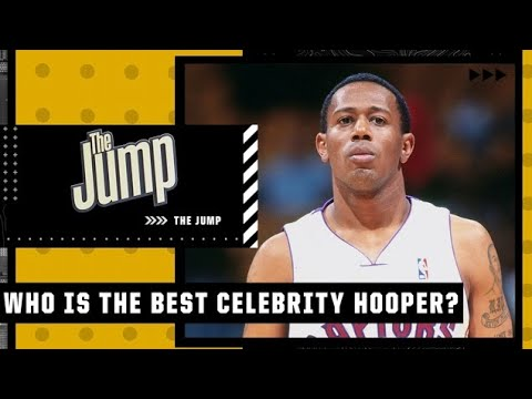 Who is the best celebrity hooper? Marcus Spears says Master P  👀 | The Jump