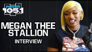 Megan Thee Stallion Talks Signing To 300 Entertainment, 'Russian Cream' Freestyle + Loving Beyoncé