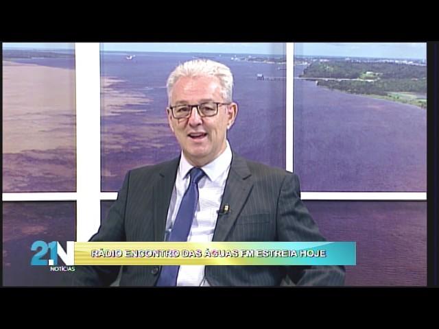 ENTREVISTA COM OSWALDO LOPES E CRISTÓVÃO NONATO SOBRE A RÁDIO ENCONTRO DAS ÁGUAS FM - 17.02.2020