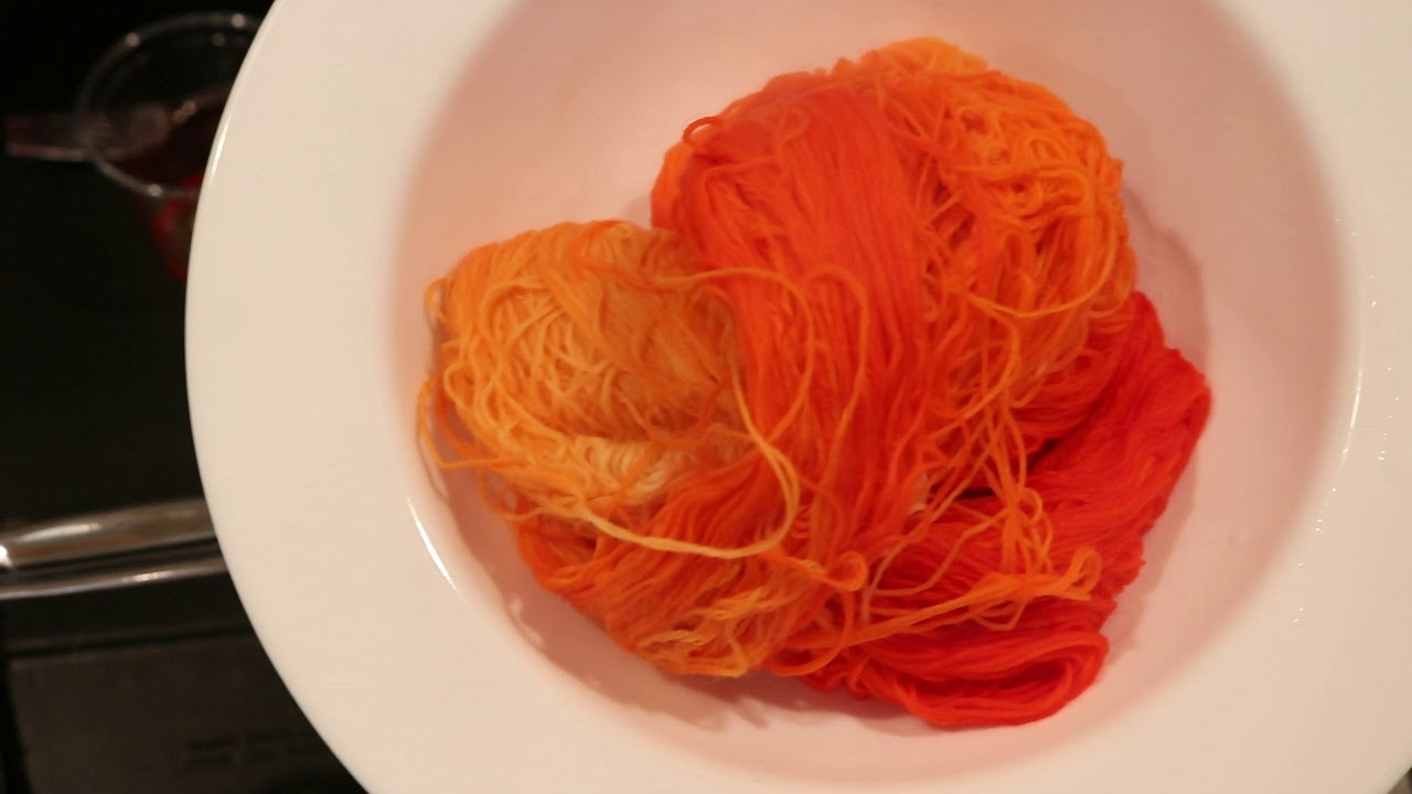 Dyepot Weekly #19 - Does Orange Food Coloring Break Take 2? Red #3 ...