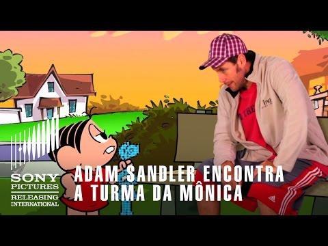 Adam Sandler encontra Turma da Mônica  PIXELS - 23 de Julho nos Cinemas