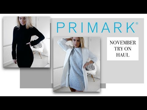 WINTER PRIMARK TRY ON HAUL 2017 | Freya Farrington
