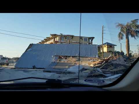 Mexico Beach Florida Hwy 98 El Governor Motel Heading West