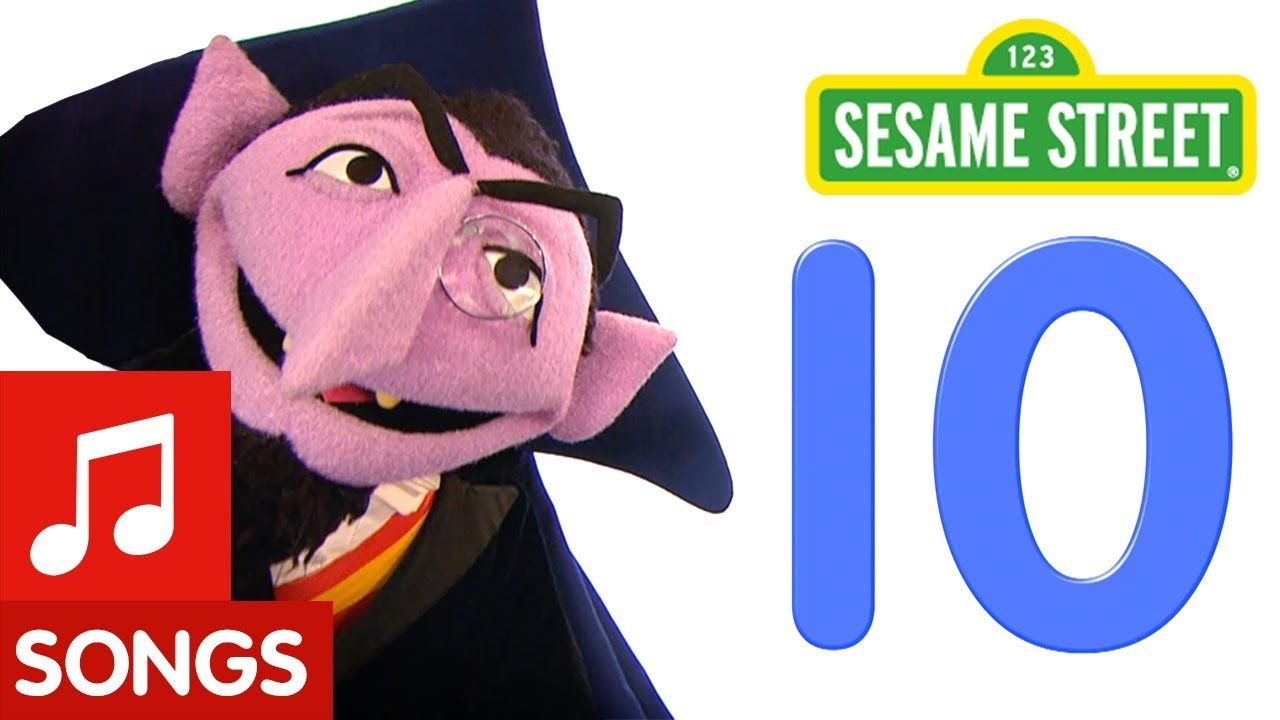 sesame street number 10 number of the day song youtube
