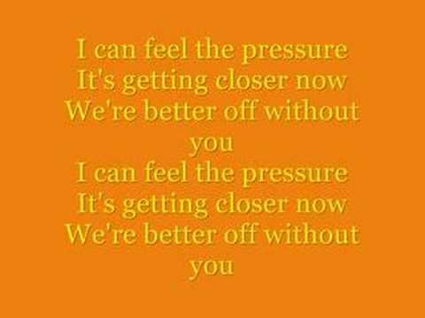 Pressure by Paramore Lyrics