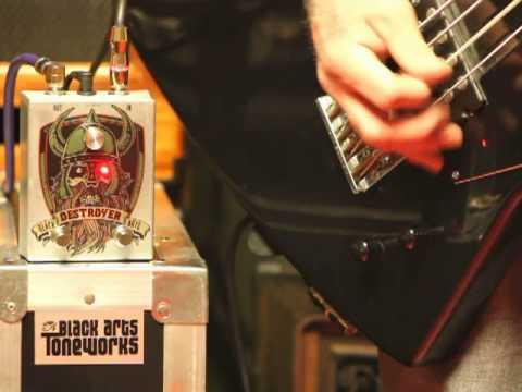 Black Arts Toneworks Destroyer Bass Demo