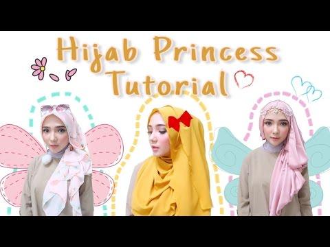 Hijab Tutorial 16 3 Girly Hijab Looks Ft Hijab Princess Ayuindriati Youtube