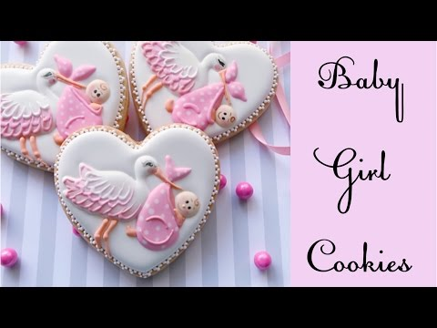 Baby Girl shower cookies.👼🏻🎀🍼