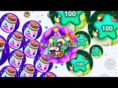 AGAR.IO MOBILE REVENGE STORY   AMAZING MOMENTS! HOW TO TAKEOVER IN AGARIO!