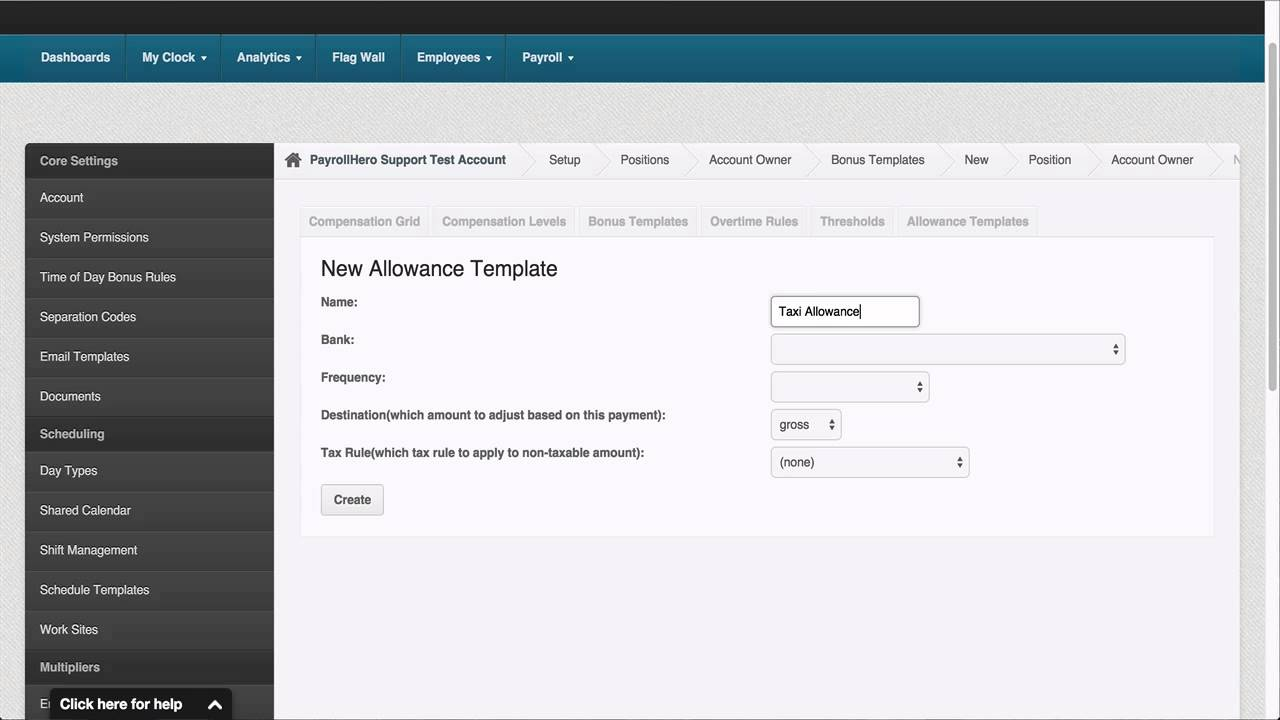 PayrollHero Payroll: How to Add Allowances and Adjust Amount Per Position
