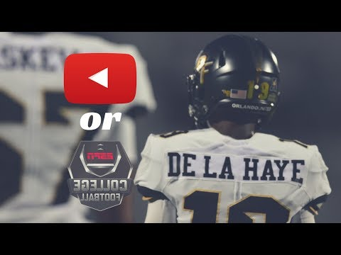 CHOOSING BETWEEN COLLEGE FOOTBALL OR YOUTUBE!