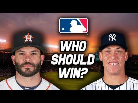 Aaron Judge vs. Jose Altuve | 2017 American League MVP
