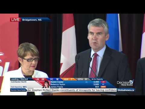 Nova Scotia election: Full victory speech from Premier Stephen McNeil