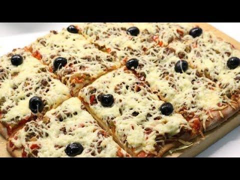 pizza familiale facile (cuisinerapide) - youtube