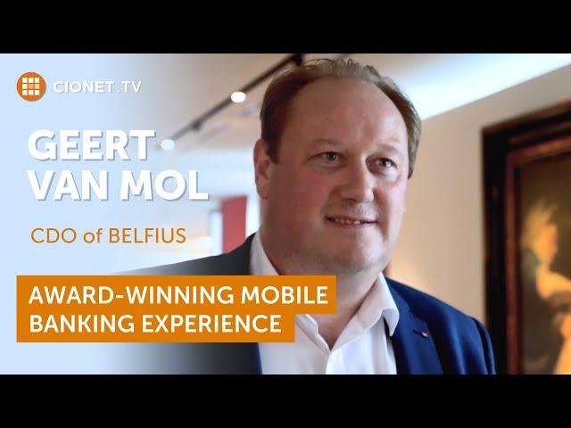 Geert Van Mol – Belfius – Award-winning mobile banking