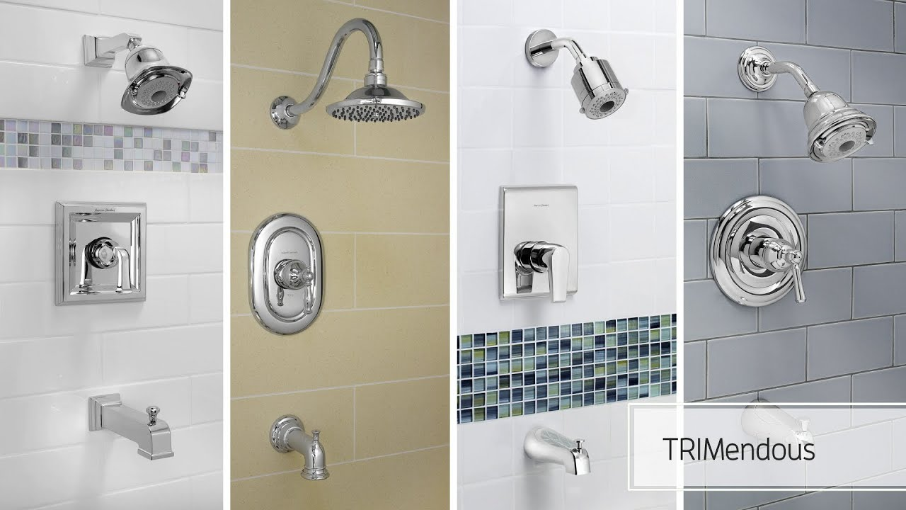 American Standard TRIMendous Shower Valve System - YouTube