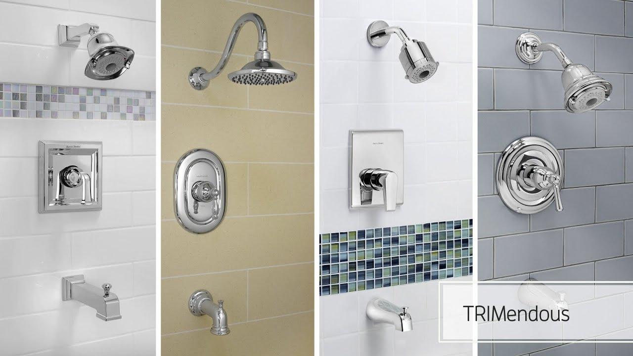 ceramix bath shower faucet trim kits