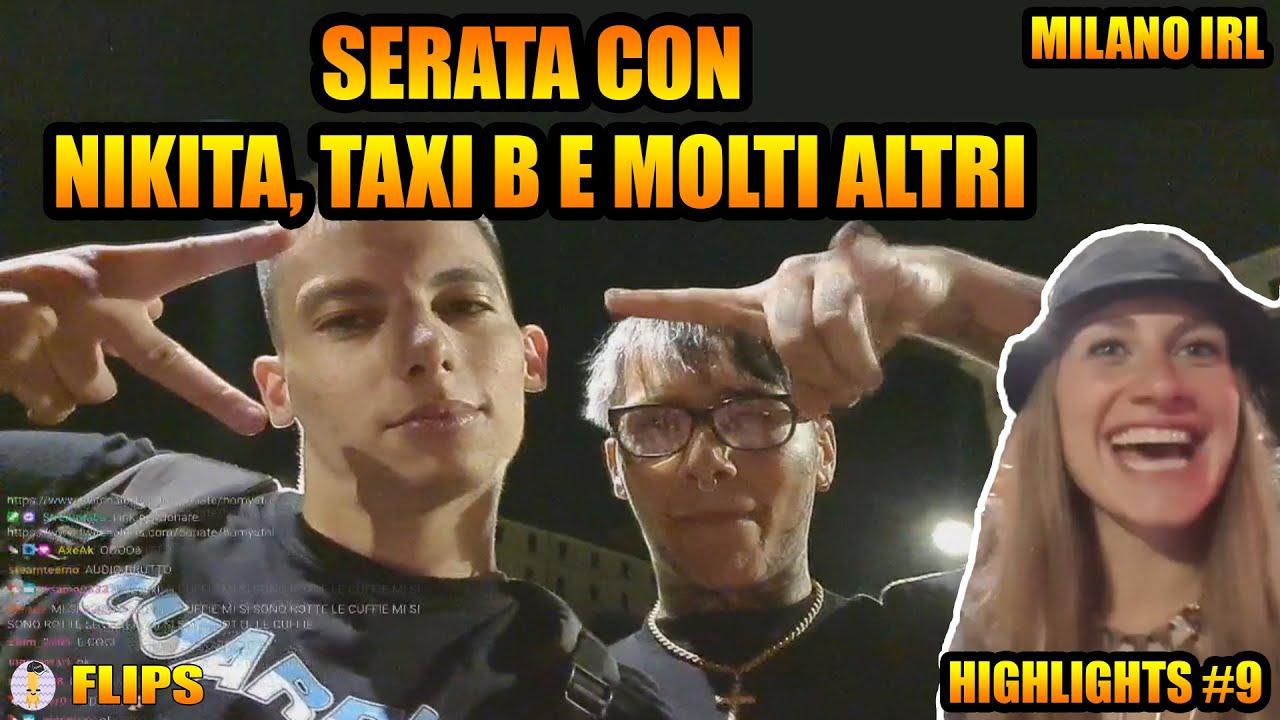 SERATA A MILANO CON TAXI B, NIKITA(DI EX ON THE BEACH) E MOLTI ALTRI | HOMYATOL LIVE | HIGHLIGHTS #9