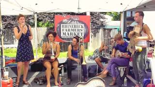 "Tuba Skinny - ""Me and My Chauffeur"" 8/5/12 Rhinebeck  Market  - MORE at DIGITALALEXA channel"