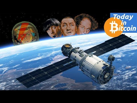 Today in Bitcoin (2017-08-14) – Bitcoin $4250 – Where is the top? – Blockstream Satellites?