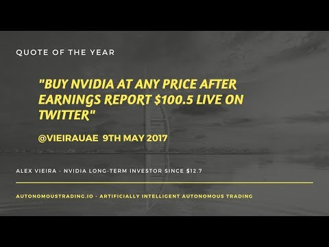 Artificially Intelligent Algorithm Sells Tesla to Invest in Nvidia $TSLA $NVDA