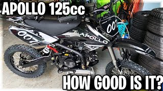 The Apollo 125cc Dirt Bike on trails | How Does It Perform? |