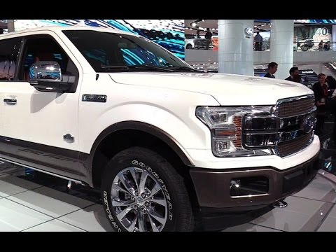 2018 Ford F150 King Ranch Exterior and Interior