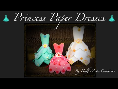Princess Paper Dress Styles