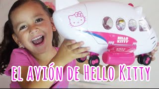 El avión de Hello Kitty