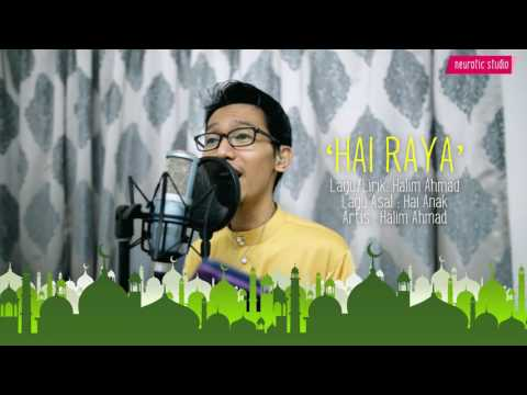 Halim Ahmad - Hai Raya 'Live' (Official Lyric Video)