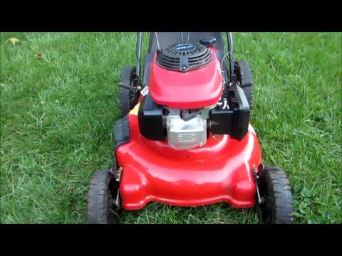 Troy Bilt Lawn Mower TB542 Honda GCV160 Engine - Final Look & Startup - Part II - Nov. 3, 2014
