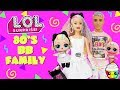 Gambar cover 80s BB Family DIY Custom Fun Craft With Barbie and Ken LOL Surprise Dolls