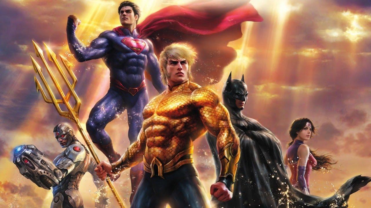Justice League Throne Of Atlantis Rewind Theater Trailer 1 Youtube
