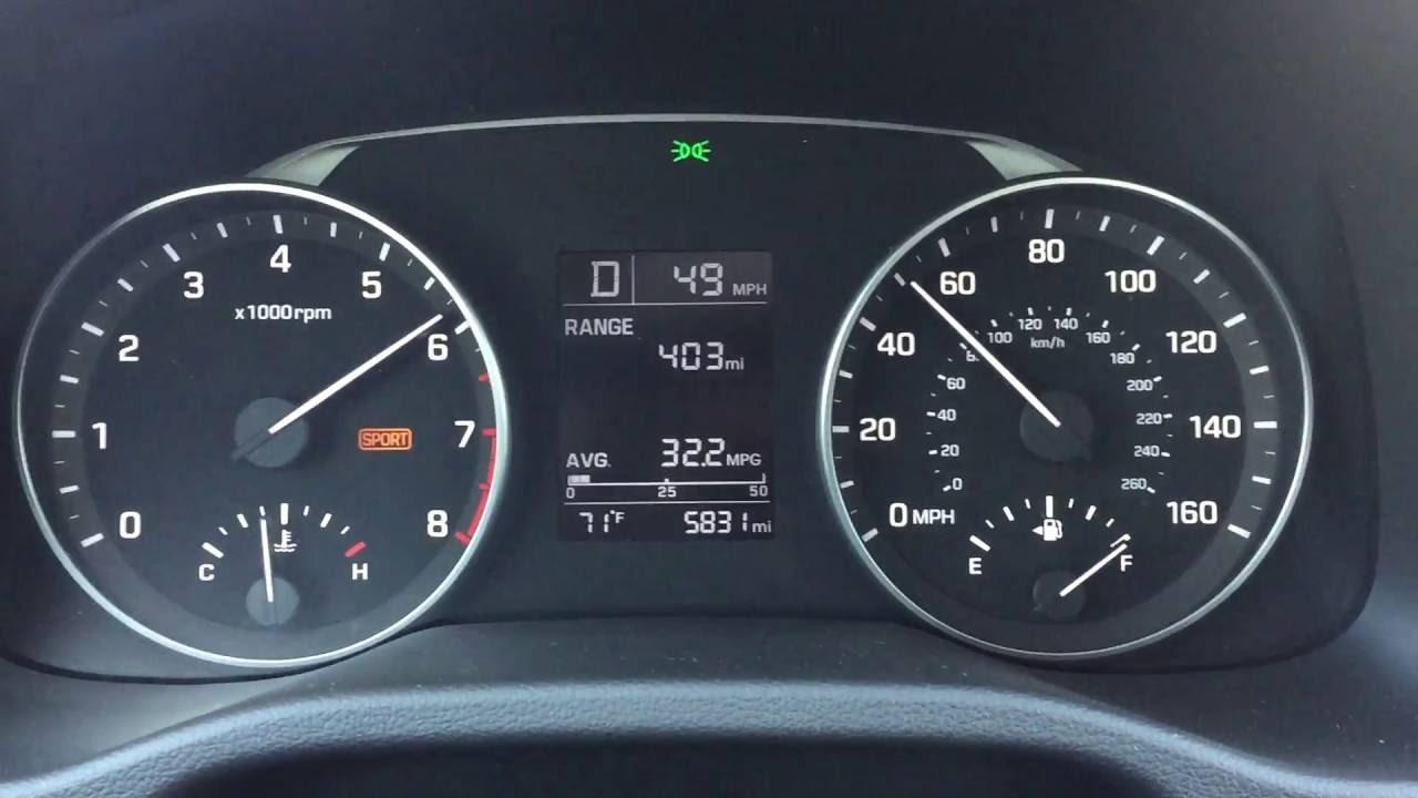 2017 Hyundai Elantra 2 0 Liter Inline 4 Cylinder 60 Mph Acceleration Test You