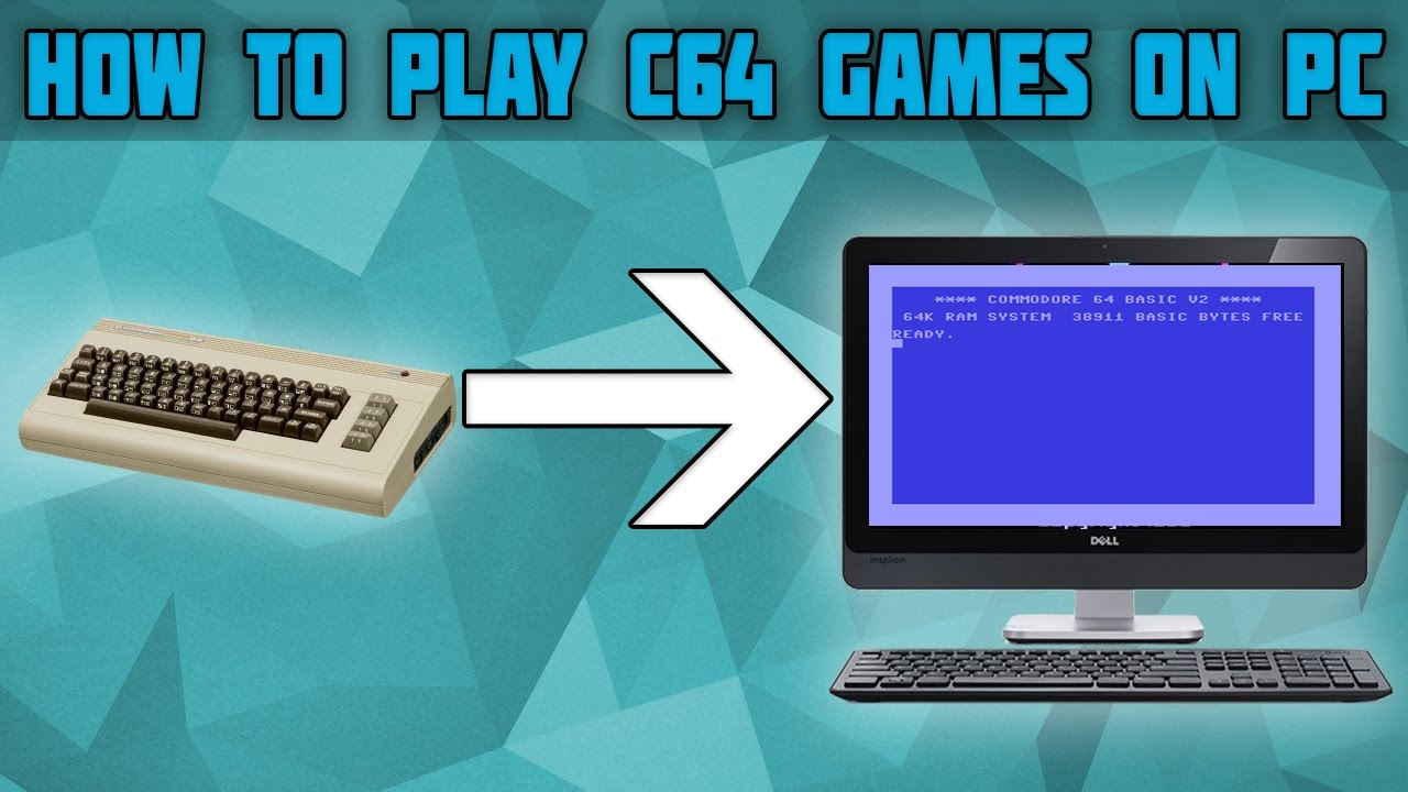 How to Play Commodore 64 Games on PC! Commodore 64 emulator! Vice Emulator  Setup!