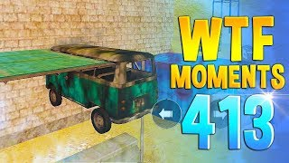 PUBG Daily Funny WTF Moments Highlights Ep 413