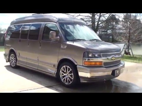 HD VIDEO CHEVROLET EXPRESS CUSTOM VAN EXPLORER MEDALLION SERIES FOR SALE INFO WWW SUNSETMOTORS COM
