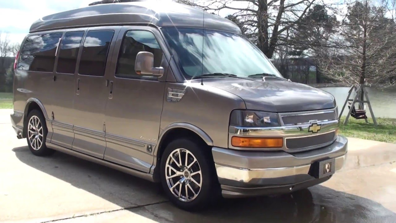 hd video chevrolet express custom van explorer medallion series for sale info  sunsetmotors