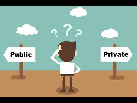 Why Do Markets Work? Public vs. Private