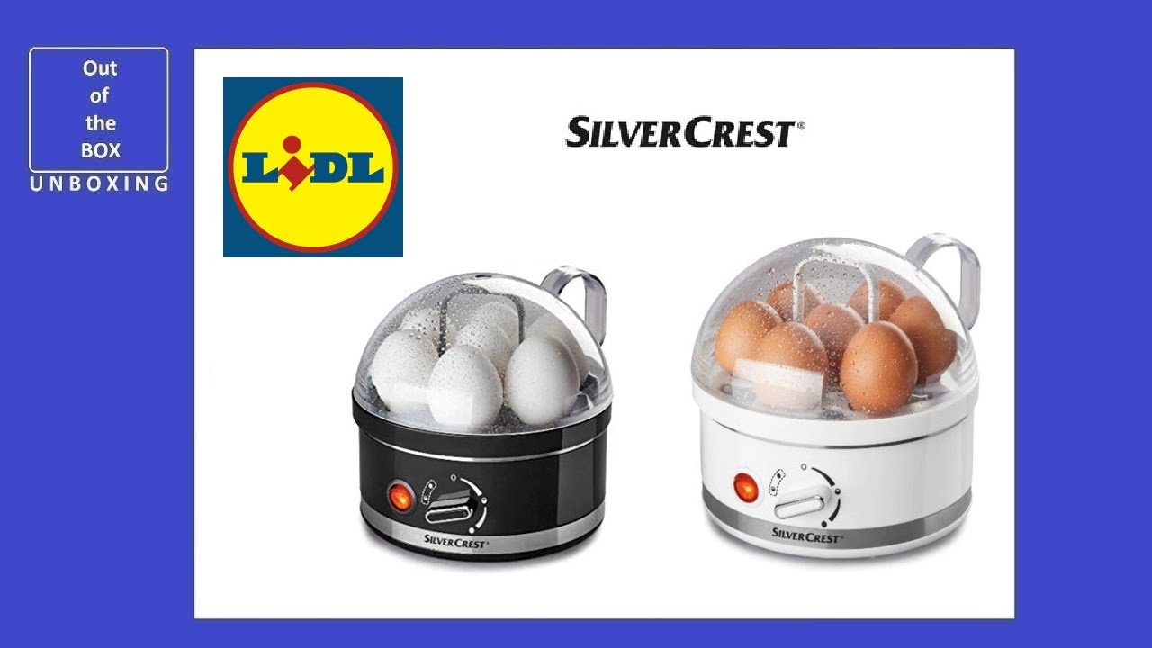 Lidl Silvercrest Eierkocher Silvercrest Kitchen Tool Egg Cooker Sed 400 A1 Unboxing Lidl Auto Power Off When Water Boils 400w