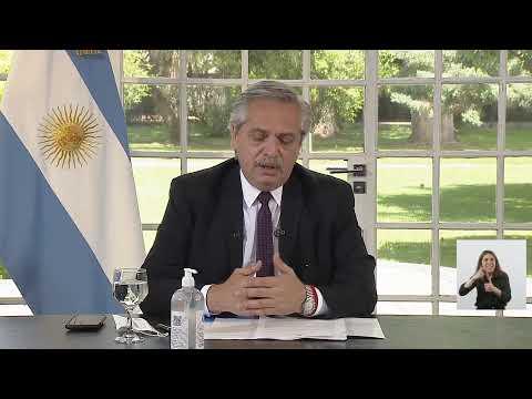 AUH: Alberto Fernández anunció la incorporación de un millón de niños