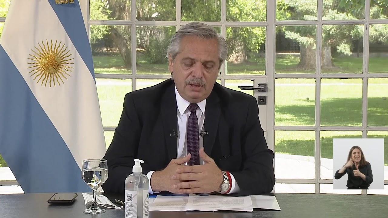 El presidente Alberto Fernández anunció una ampliación de la Asignación Universal por Hijo