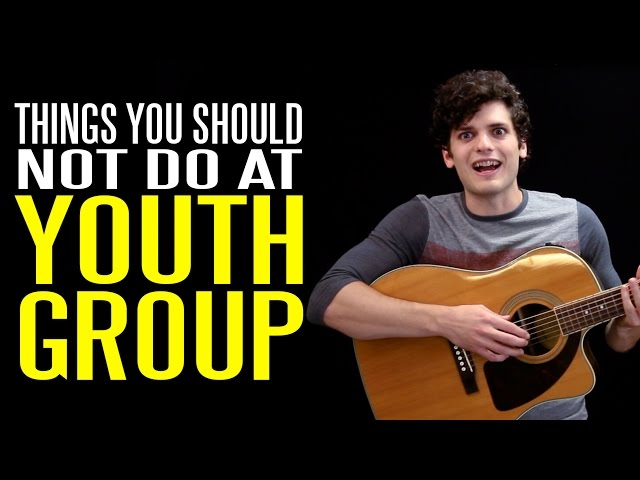 Seven Things You Should NOT Do at Youth Group