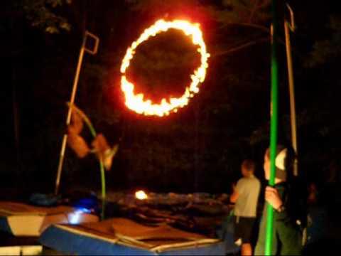 Flaming Hoop Vault